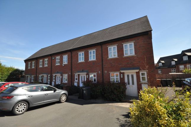 Thumbnail Town house to rent in South Lodge Mews, Salisbury Drive, Midway, Swadlincote