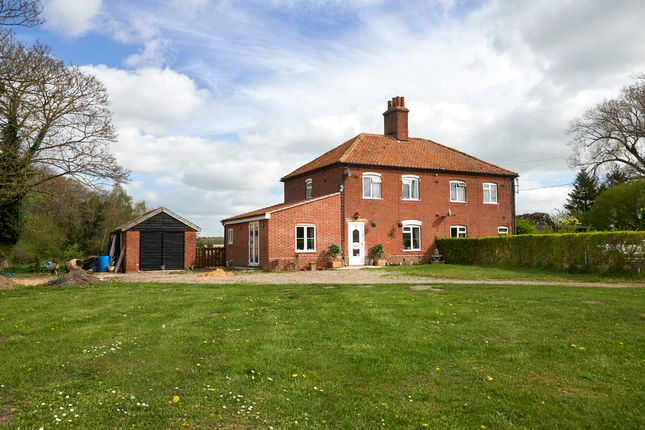 Thumbnail Semi-detached house for sale in Eccles Road, East Harling, Norwich
