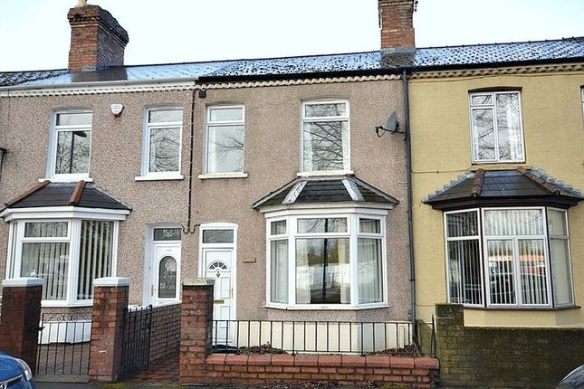 Thumbnail Terraced house to rent in Llantarnam Road, Llantarnam, Cwmbran