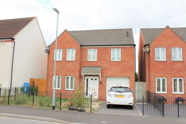 Thumbnail Detached house for sale in Meadowlands Avenue, Bridgwater