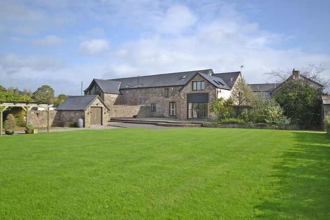 Thumbnail Semi-detached house for sale in Barn Conversion With Land, Coedkernew, Newport