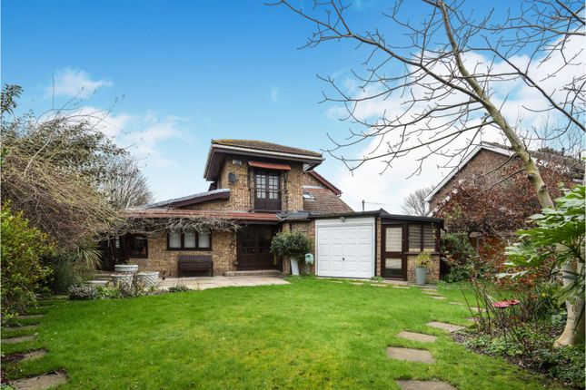 Thumbnail End terrace house for sale in Cobill Close, Hornchurch