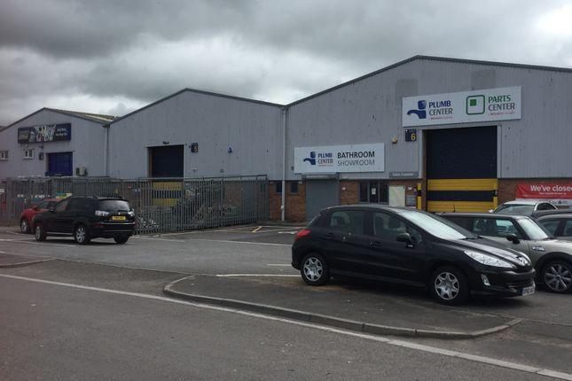 Thumbnail Warehouse to let in Barhams Close, Bridgwater
