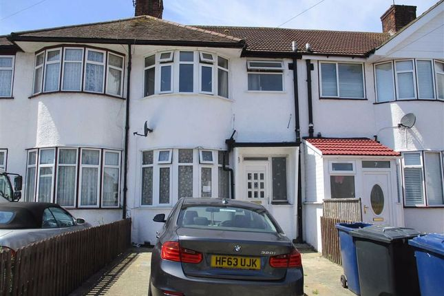 Thumbnail Terraced house to rent in Hart Grove, Southall, Middlesex