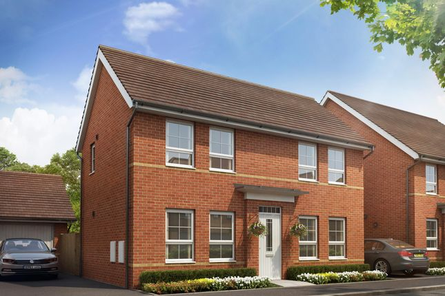 "Thumbnail Detached house for sale in ""Dartmouth"" at Tiverton Road, Cullompton"