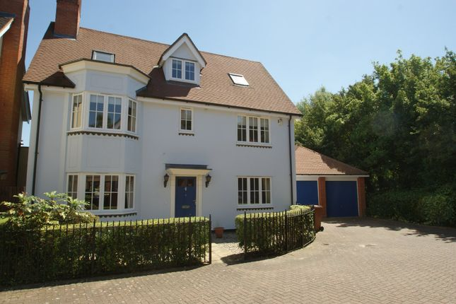 Thumbnail Detached house for sale in Armourers Close, Bishop's Stortford