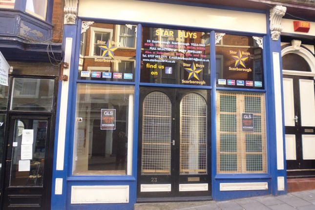 Commercial property to let in Eastborough, Scarborough