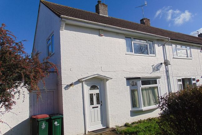 Thumbnail End terrace house to rent in Kites Close, Crawley