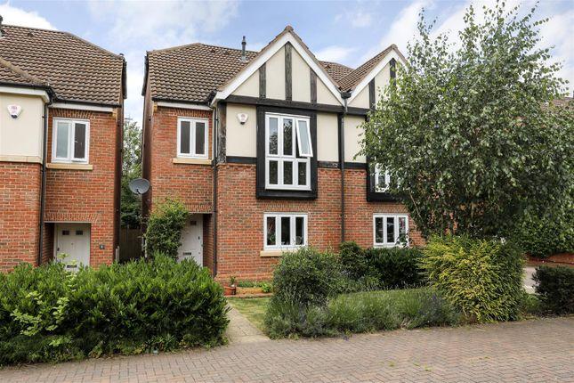 Thumbnail Semi-detached house for sale in Burman Close, Leamington Spa