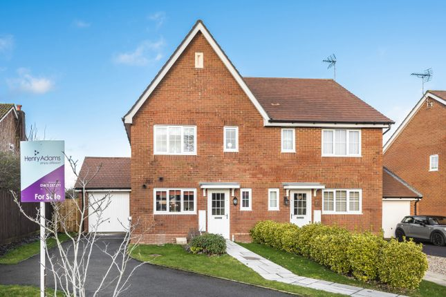 Thumbnail Semi-detached house for sale in Roman Lane, Southwater