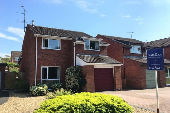 Thumbnail Detached house for sale in Burgess Close, Taunton