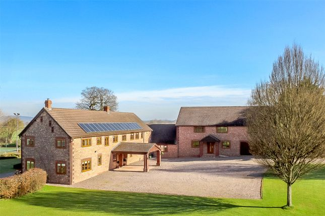 Thumbnail Detached house for sale in Princes Oak, Alberbury, Powys