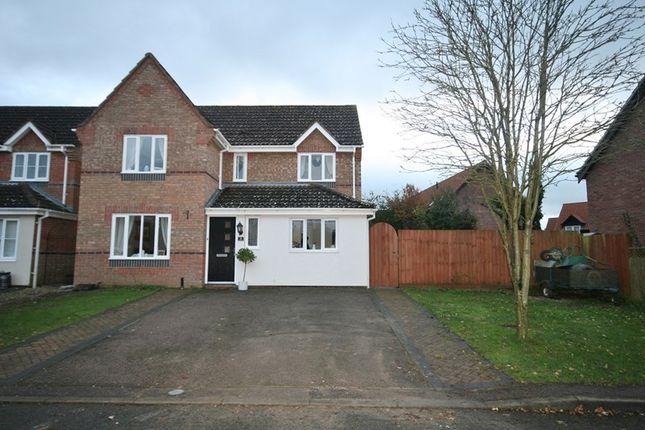 Thumbnail Detached house for sale in Bracken Drive, Attleborough