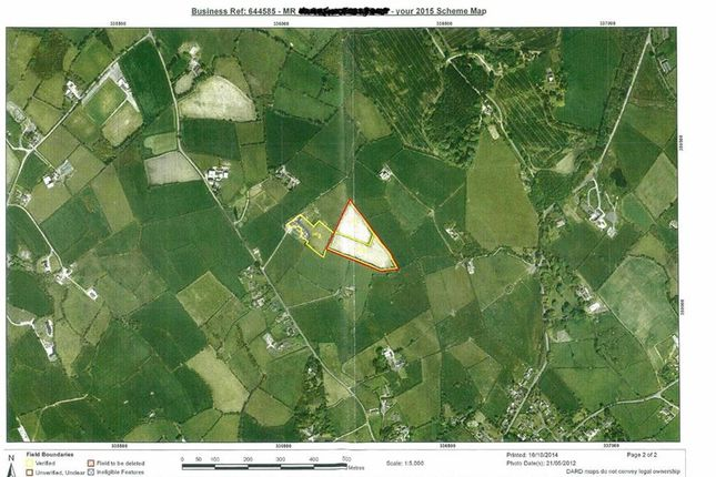 Thumbnail Land for sale in Grove Road, Ballynahinch