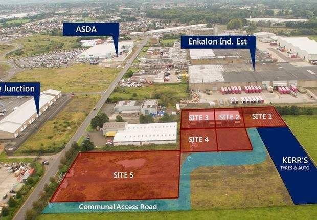 Thumbnail Land for sale in Masserene Business Park, Kilbegs Road, Antrim, County Antrim