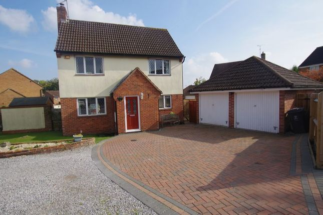 Thumbnail Detached house for sale in Woollaton Close, Grange Park, Swindon