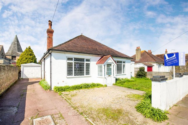 Thumbnail Detached bungalow for sale in Reigate Road, Worthing