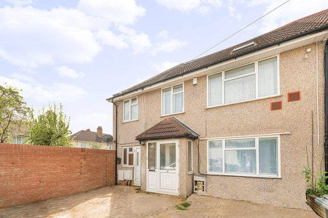 Thumbnail Semi-detached house for sale in Queens Gardens, Heston