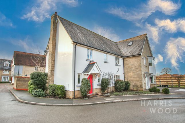 Thumbnail Semi-detached house for sale in Walnut Drive, Mile End, Colchester