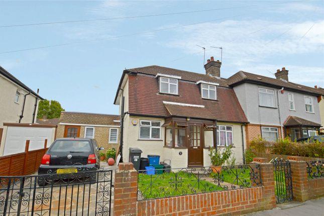 Thumbnail Semi-detached house for sale in Chapman Road, Croydon