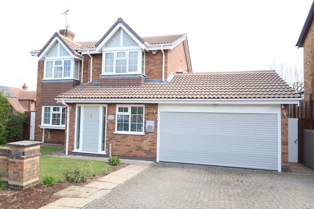 Thumbnail Detached house for sale in James Gavin Way, Oadby