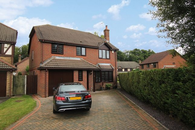 Thumbnail Detached house for sale in Osmund Close, Worth, Crawley, West Sussex.