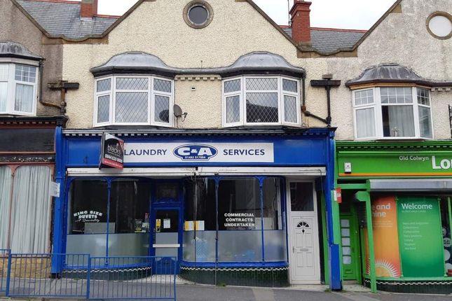 Thumbnail Retail premises for sale in Abergele Road, Old Colwyn, Colwyn Bay