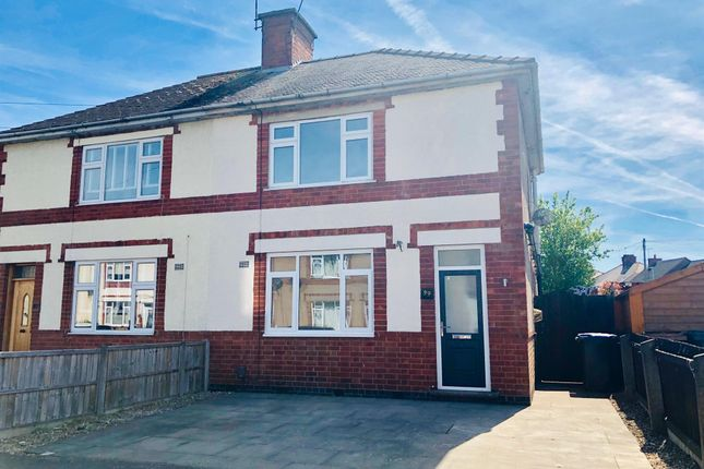Thumbnail Semi-detached house to rent in Bradgate Road, Barwell, Leicester
