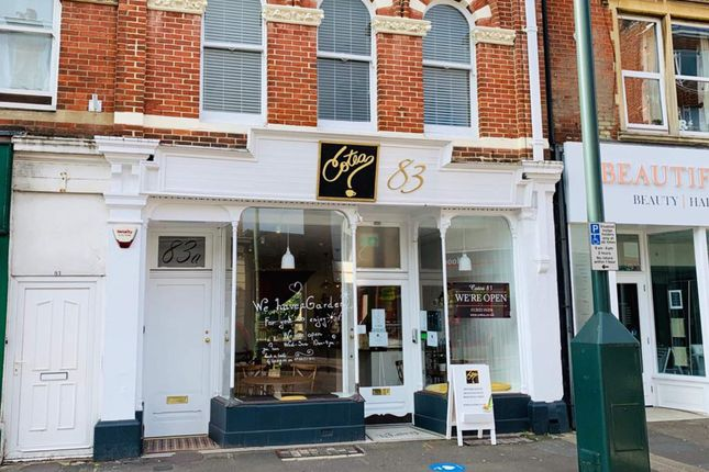 Thumbnail Commercial property for sale in Coffee Shop, Bournemouth
