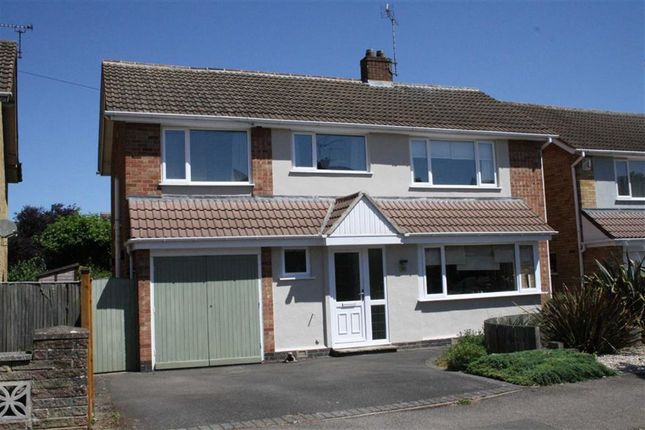 Thumbnail Detached house for sale in Salcombe Drive, Glenfield, Leicester