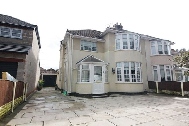Thumbnail Semi-detached house for sale in Queens Drive, Wavertree, Liverpool