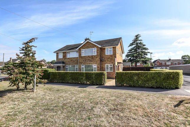 Thumbnail Semi-detached house for sale in Churchill Way, Long Hanborough