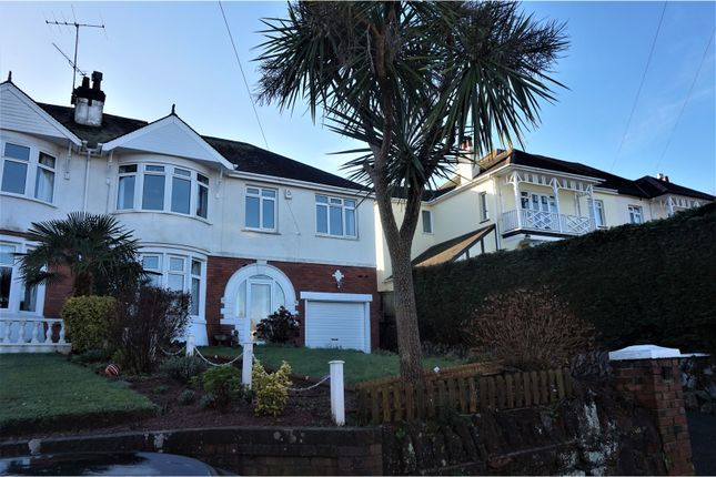 Thumbnail Semi-detached house for sale in Osney Avenue, Paignton