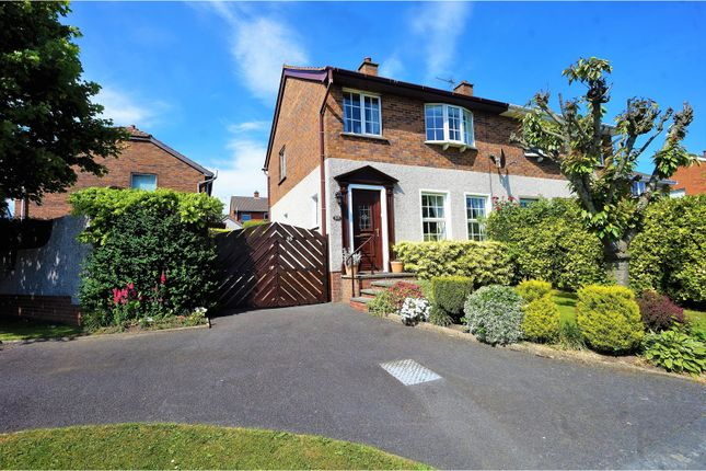 Thumbnail Semi-detached house for sale in Bexley Road, Bangor