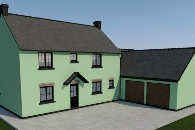 Thumbnail Detached house for sale in Caerwgan, Aberbanc, Newcastle Emlyn