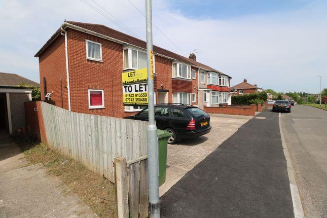 Thumbnail Flat to rent in Laneside Road, Stockton - On - Tees