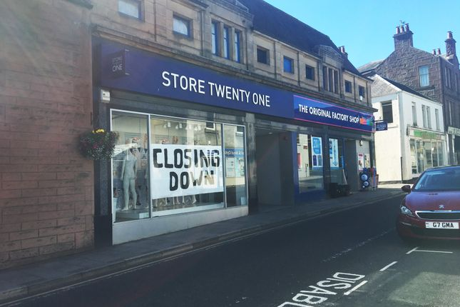 Thumbnail Retail premises to let in 66-68 High Street, Blairgowrie