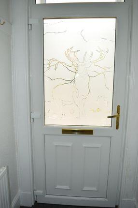 Entrance Door of 4, Wyndham Park, Ardbeg, Rothesay, Isle Of Bute PA20