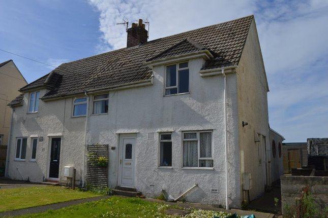 Semi-detached house for sale in Trebeferad, Boverton, Llantwit Major