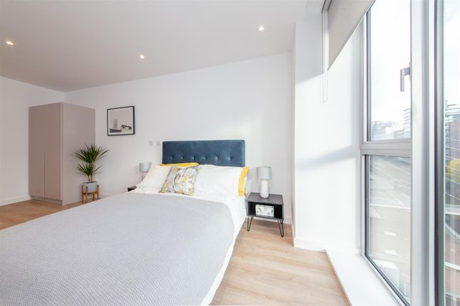 Bed Area of Dearmans Place, Salford M3
