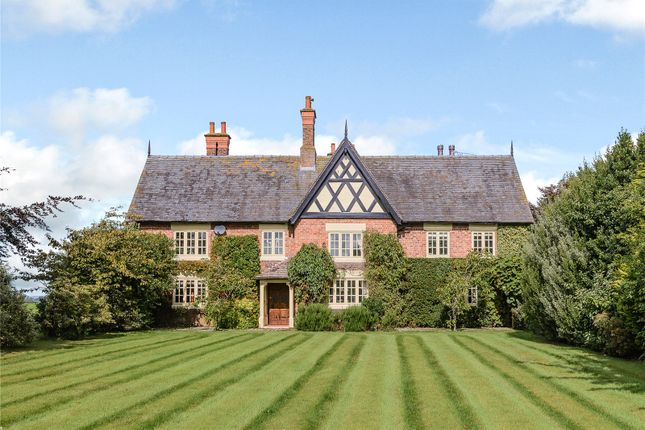 Thumbnail Detached house for sale in Beeston, Tarporley, Cheshire