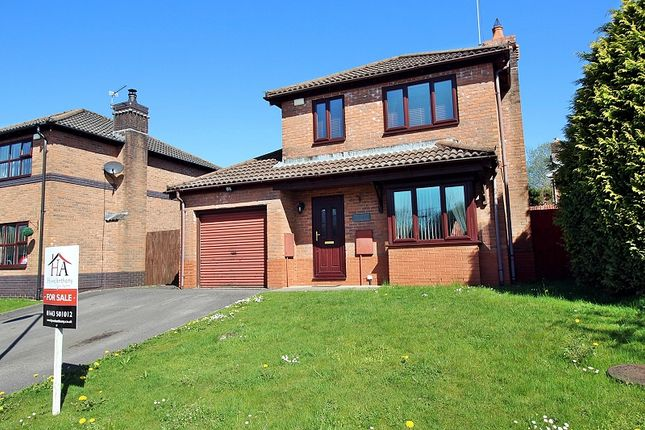 Thumbnail Detached house for sale in Tan Yr Allt, Cross Inn, Pontyclun, Rhondda, Cynon, Taff.