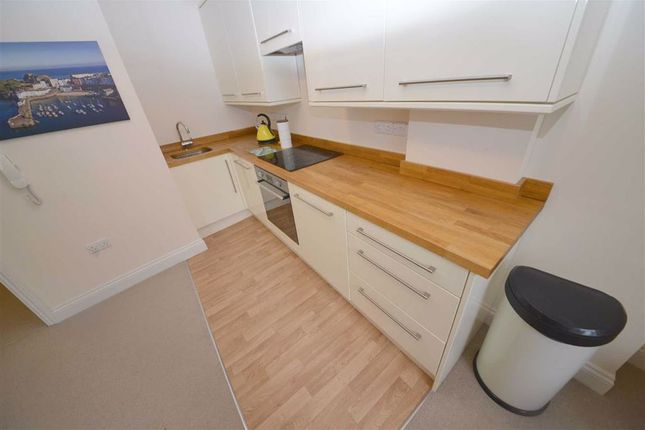 Kitchen Area of Flat 3, 21, The Norton, Tenby, Dyfed SA70