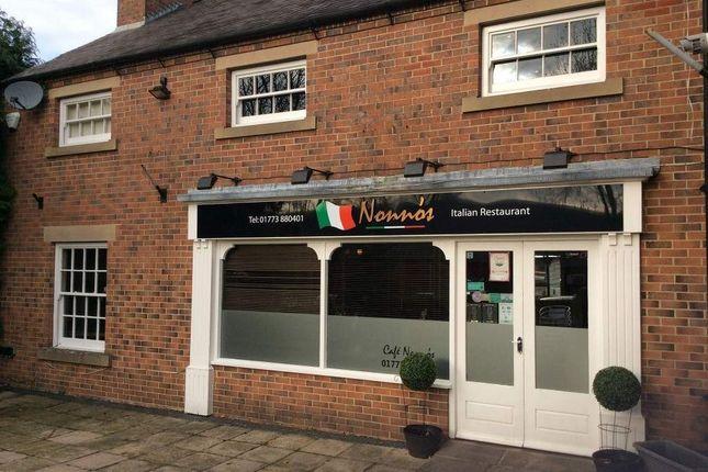 Thumbnail Restaurant/cafe for sale in Green Lane, Belper