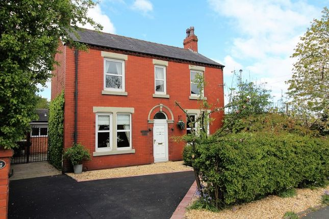 Thumbnail Detached house for sale in Station Road, Little Hoole, Longton.