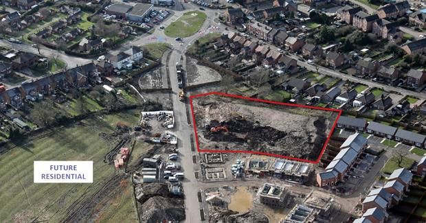 Thumbnail Land for sale in Retail/Leisure Development Opportunity, Coppenhall, Crewe