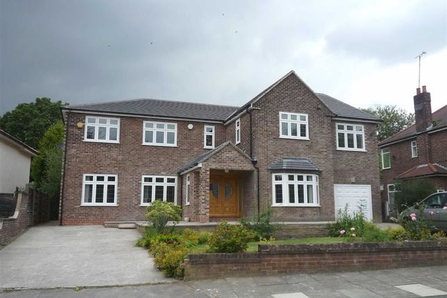 Thumbnail Detached house to rent in Sefton Drive, Worsley, Manchester