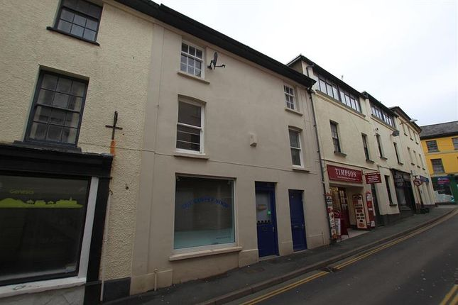 Thumbnail Flat to rent in Castle Street, Brecon