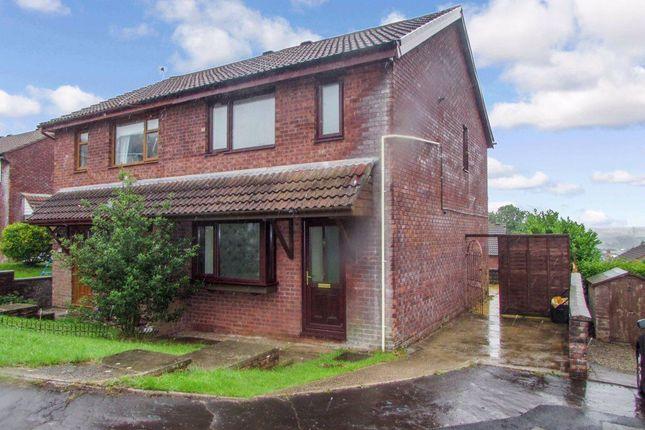 Thumbnail Property to rent in Hazeldene Avenue, Brackla, Bridgend
