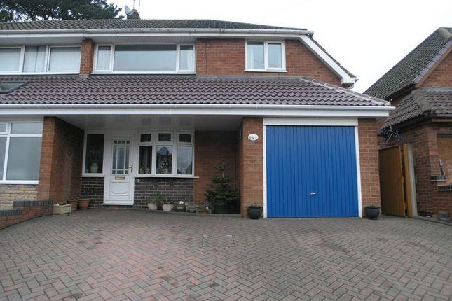 3 bed semi-detached house for sale in Huntlands Road, Halesowen